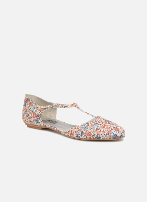 Ballerines Ippon Vintage ZOE-FLOW Multicolore vue détail/paire