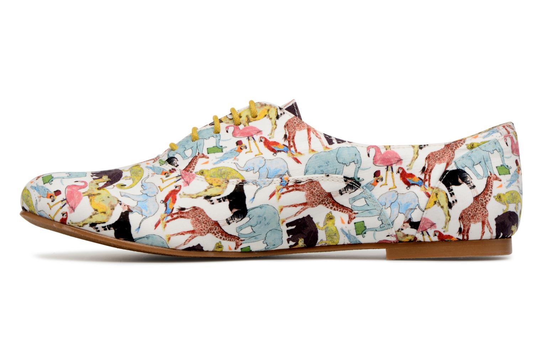 Chaussures à lacets Ippon Vintage ZOE-ZOO Multicolore vue face