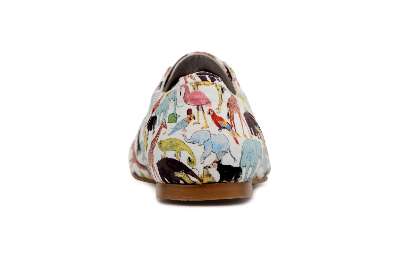 Chaussures à lacets Ippon Vintage ZOE-ZOO Multicolore vue droite