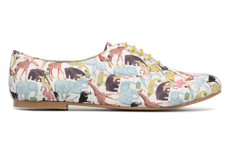 Chaussures à lacets Ippon Vintage ZOE-ZOO Multicolore vue derrière