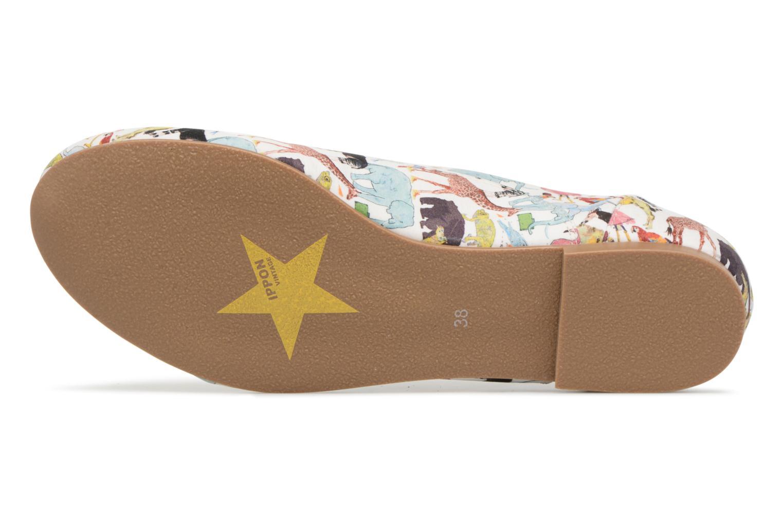 Chaussures à lacets Ippon Vintage ZOE-ZOO Multicolore vue haut