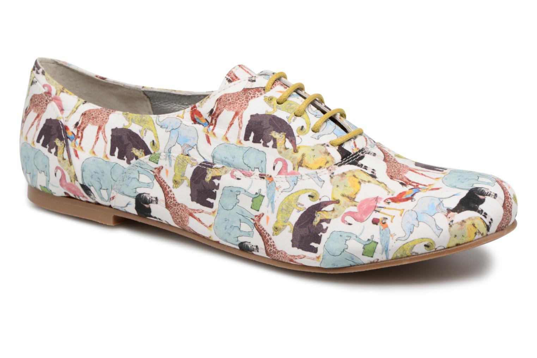 Chaussures à lacets Ippon Vintage ZOE-ZOO Multicolore vue détail/paire