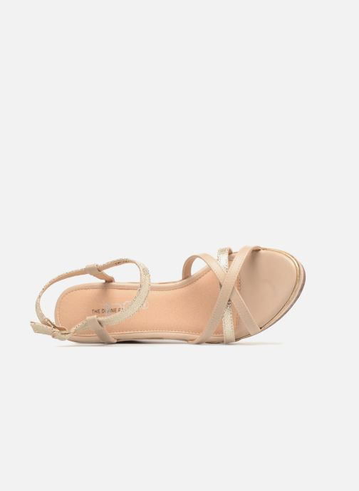 Lucie2 Factory beige Sandalen 326243 Divine qa5Yn5v