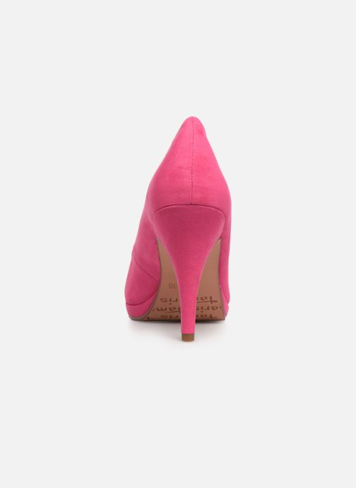 High heels Tamaris 22407 Pink view from the right