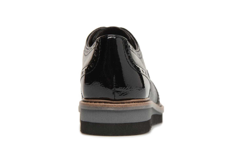 Chaussures à lacets Tamaris 23397 Noir vue droite