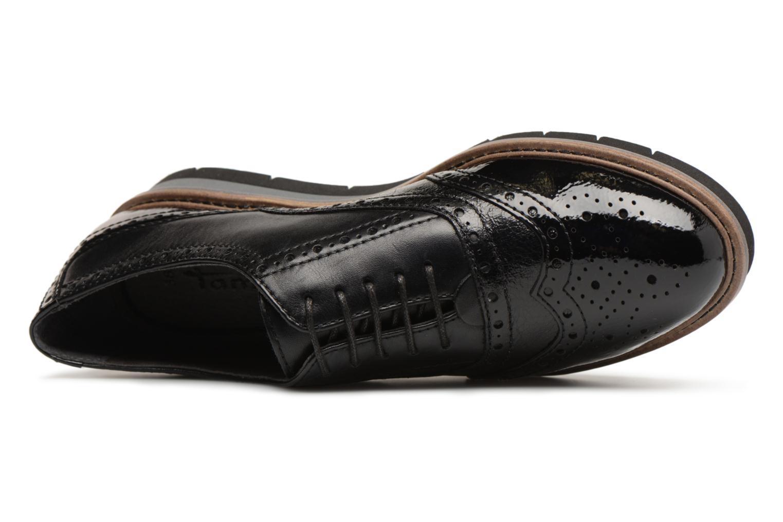 Chaussures à lacets Tamaris 23397 Noir vue gauche