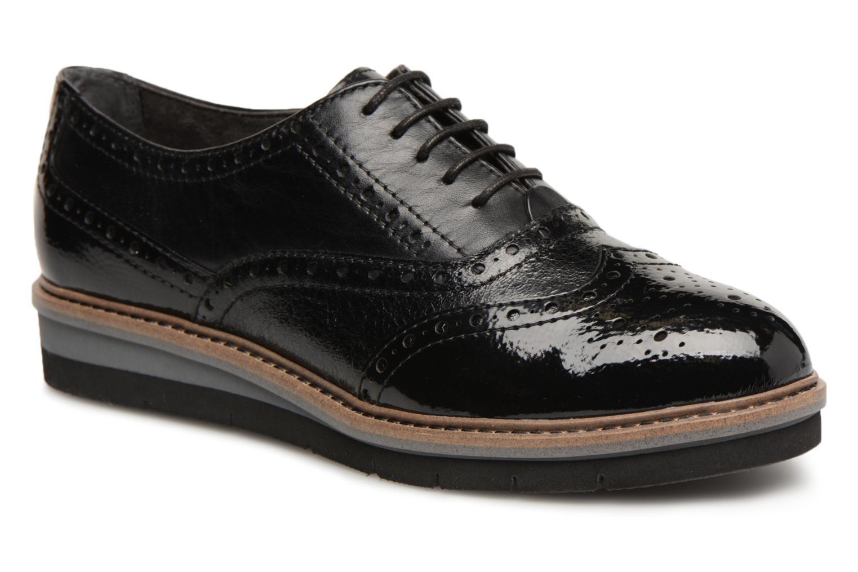 Chaussures à lacets Tamaris 23397 Noir vue détail/paire