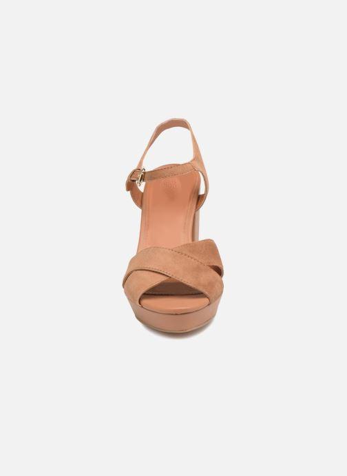 Sandales et nu-pieds Gioseppo ANISTON Marron vue portées chaussures