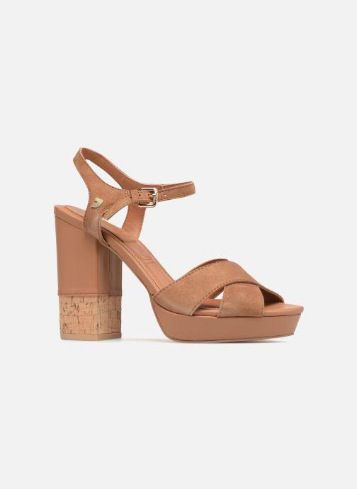 Sandales et nu-pieds Gioseppo ANISTON Marron vue derrière