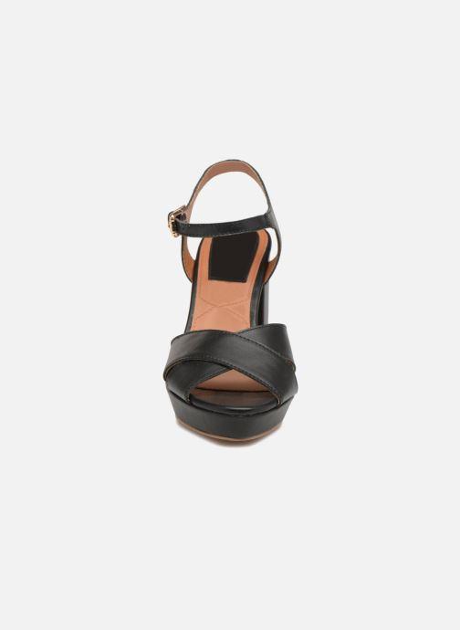 Negro Sandales Et Aniston Nu Gioseppo pieds TclKFJ3u1