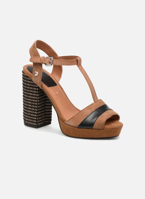 Sandaler Gioseppo JULIANNE Brun detaljeret billede af skoene