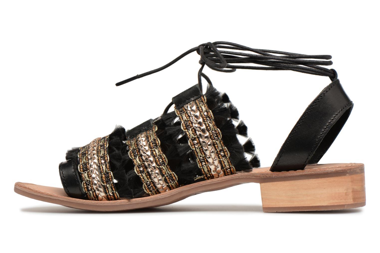 Sandales et nu-pieds Gioseppo TIXAE Noir vue face