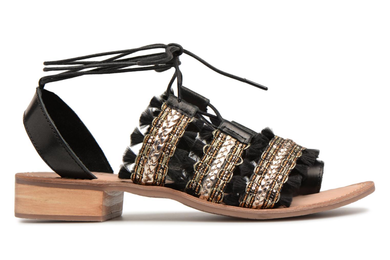 Sandales et nu-pieds Gioseppo TIXAE Noir vue derrière