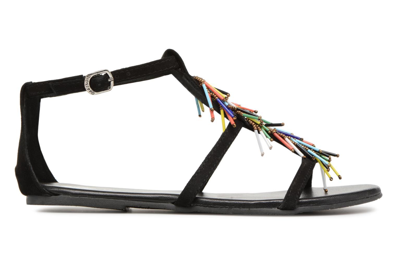 Sandales et nu-pieds Gioseppo ALOTI Noir vue derrière