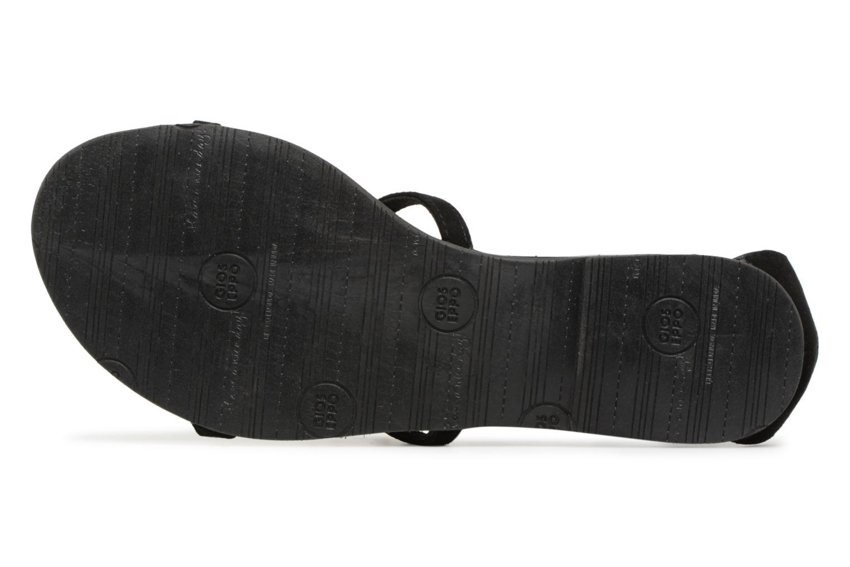 Sandales et nu-pieds Gioseppo ALOTI Noir vue haut