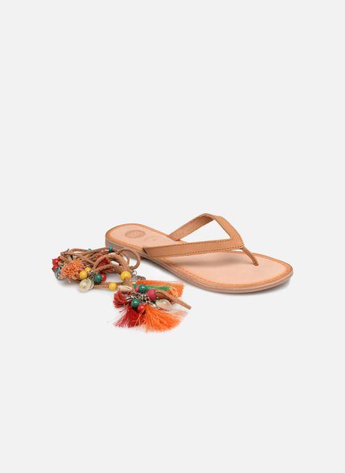 Sandalias Gioseppo DECORE Multicolor vista de detalle / par