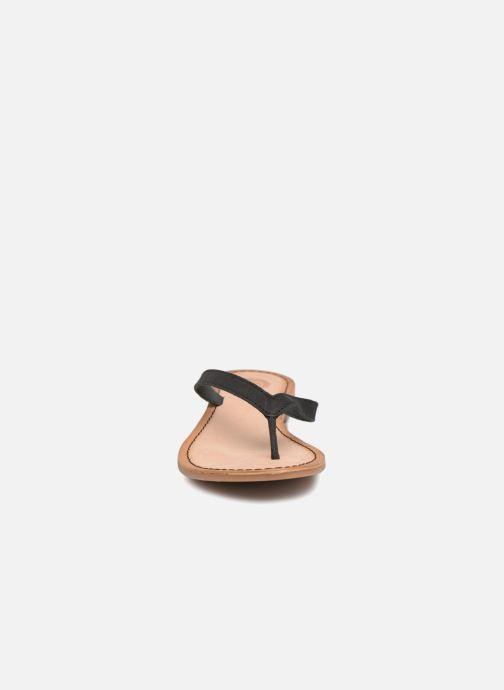Sandales et nu-pieds Gioseppo DECORE Noir vue portées chaussures