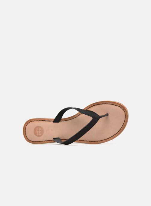 Sandales et nu-pieds Gioseppo DECORE Noir vue gauche