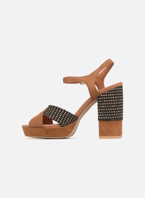 Sandales et nu-pieds Gioseppo RANUKA Marron vue face