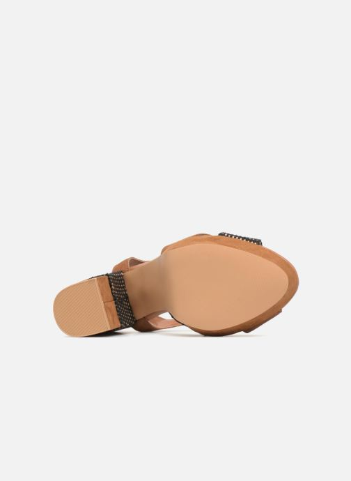 Sandales et nu-pieds Gioseppo RANUKA Marron vue haut