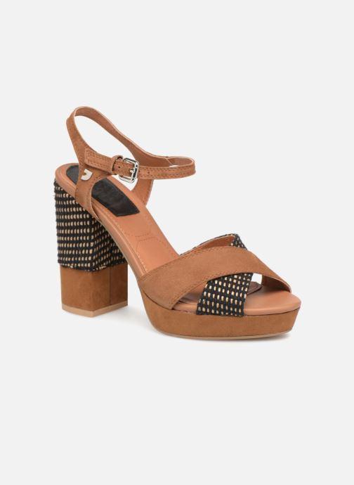 Sandales et nu-pieds Gioseppo RANUKA Marron vue détail/paire