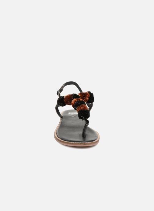 Sandals Gioseppo SARIDA Black model view