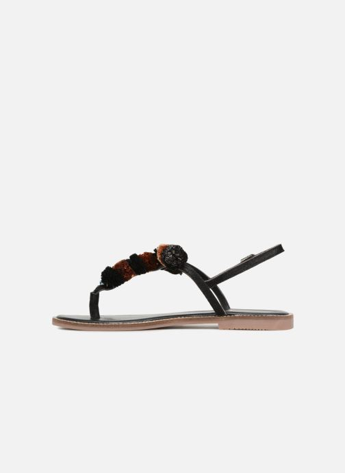 Sandals Gioseppo SARIDA Black front view