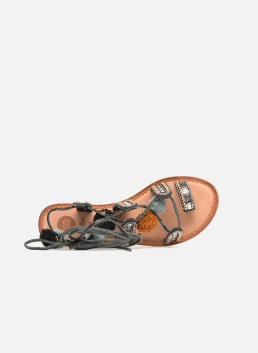 Sandals Gioseppo NAYELI Black view from the left