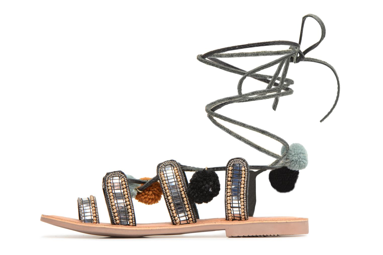 Sandales et nu-pieds Gioseppo NAYELI Noir vue face