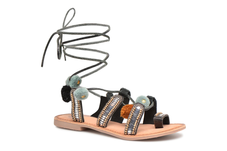 Sandales et nu-pieds Gioseppo NAYELI Noir vue détail/paire