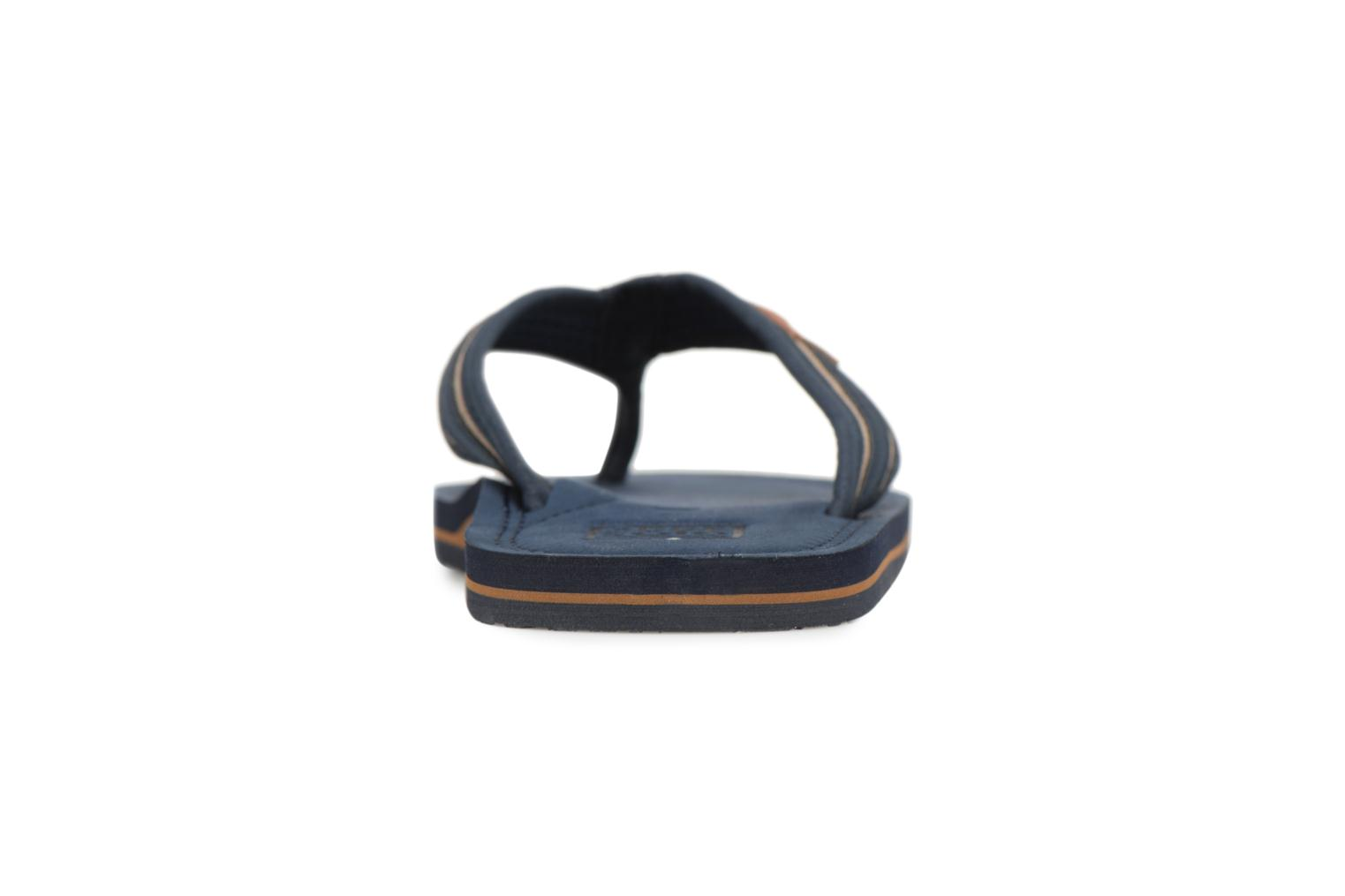 Flip flops Gioseppo PAPAYA Blue view from the right