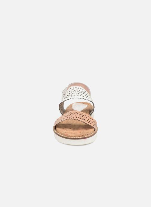 Sandales et nu-pieds Gioseppo POLAR Blanc vue portées chaussures
