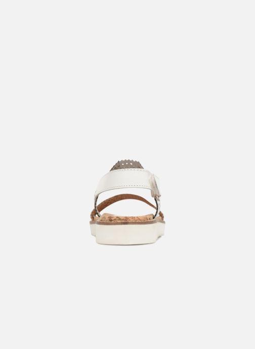 Sandales et nu-pieds Gioseppo POLAR Blanc vue droite