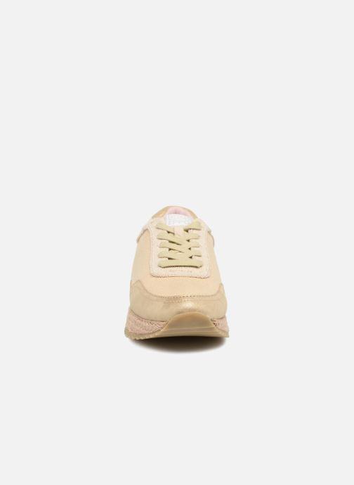 Sneaker Gioseppo MOLDAVIA beige schuhe getragen