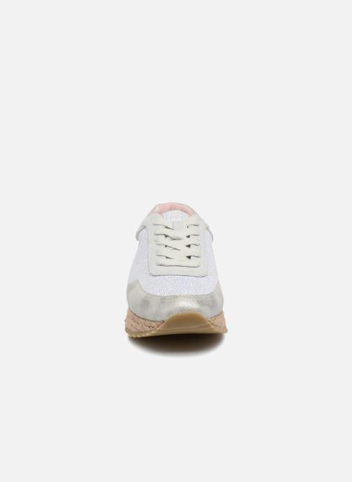 Baskets Gioseppo MOLDAVIA Argent vue portées chaussures