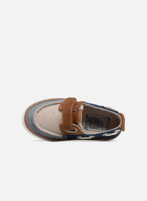Zapatos con velcro Gioseppo AMADEUS Multicolor vista lateral izquierda