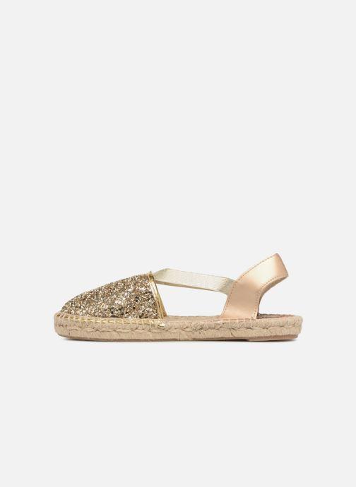 Sandales et nu-pieds Gioseppo FANZARA Or et bronze vue face