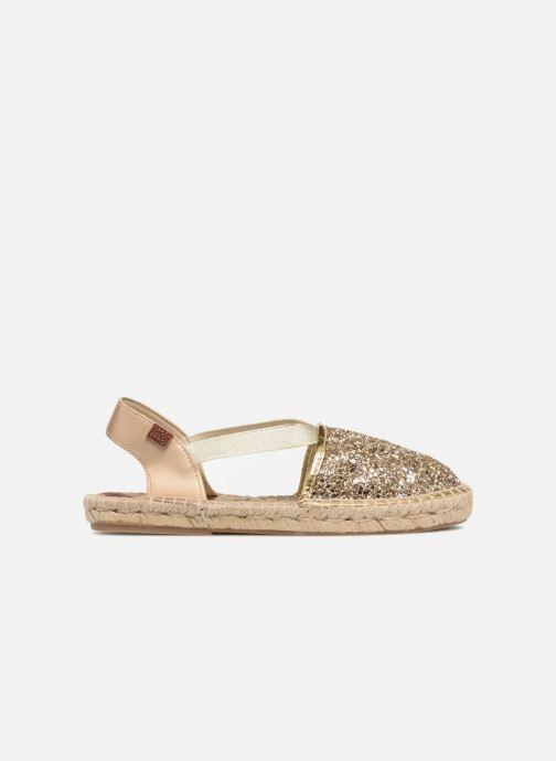 Sandales et nu-pieds Gioseppo FANZARA Or et bronze vue droite