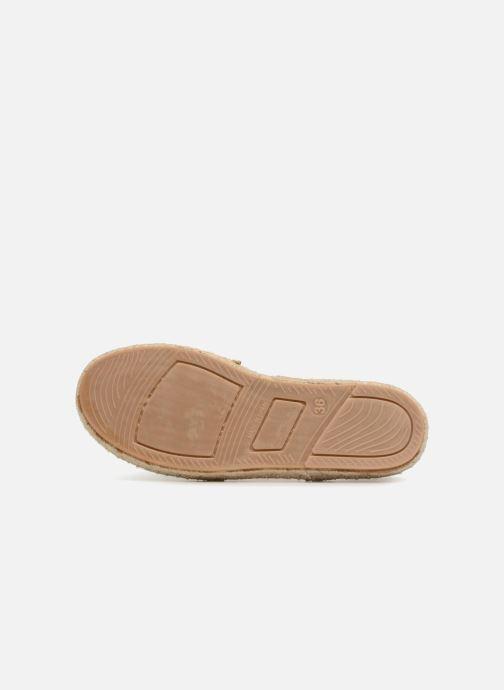 Sandales et nu-pieds Gioseppo FANZARA Or et bronze vue gauche