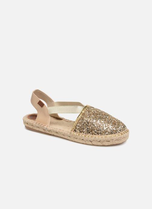 Sandales et nu-pieds Gioseppo FANZARA Or et bronze vue détail/paire