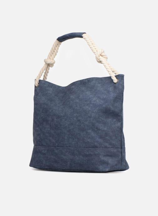 Handtaschen Roxy Famous Street blau ansicht von rechts