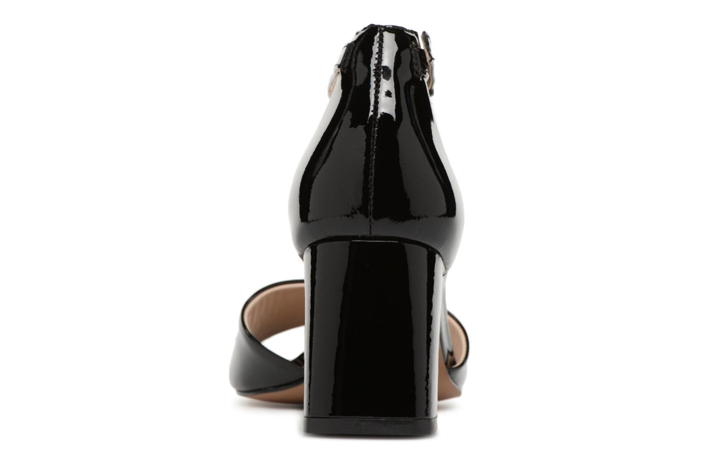 Sandales et nu-pieds JB MARTIN 2Quila Noir vue droite