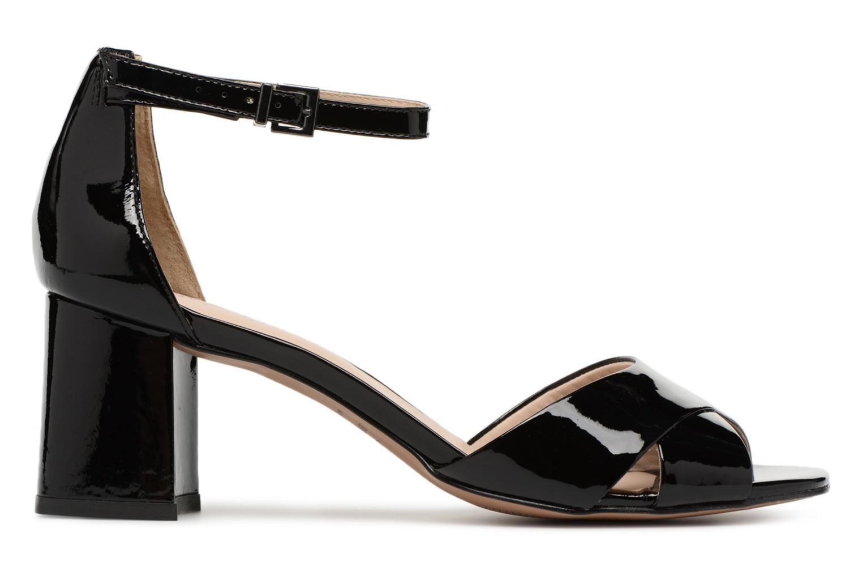 Sandales et nu-pieds JB MARTIN 2Quila Noir vue derrière