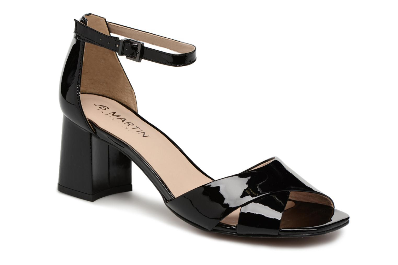 Sandales et nu-pieds JB MARTIN 2Quila Noir vue détail/paire