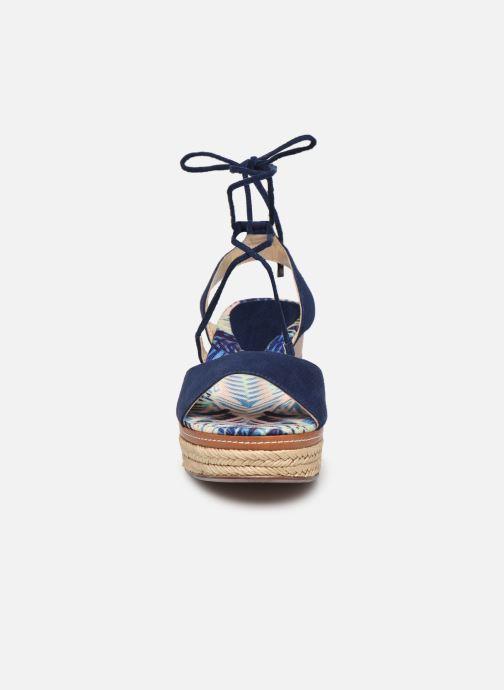 Espadrilles JB MARTIN 3Maud Bleu vue portées chaussures