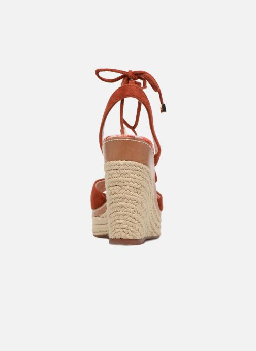 Espadrilles JB MARTIN Lavinia Red view from the right
