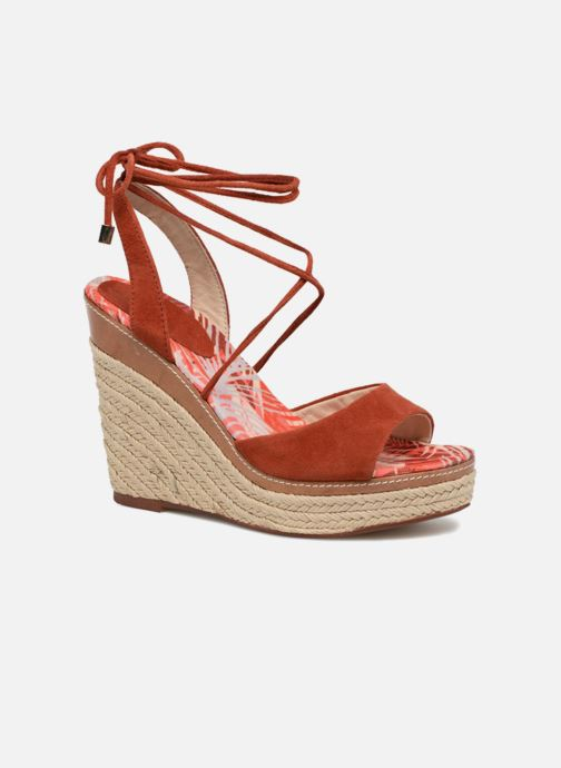 Espadrilles JB MARTIN Lavinia Red detailed view/ Pair view