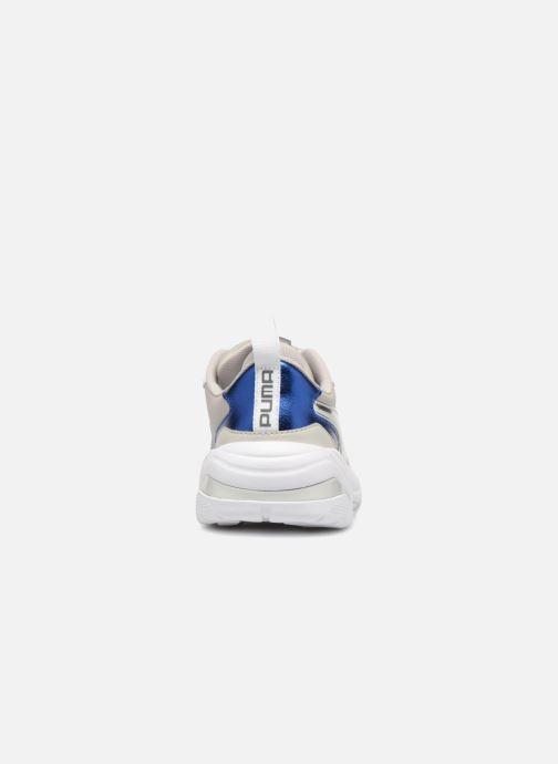 Baskets Puma Thunder Electric W Blanc vue droite