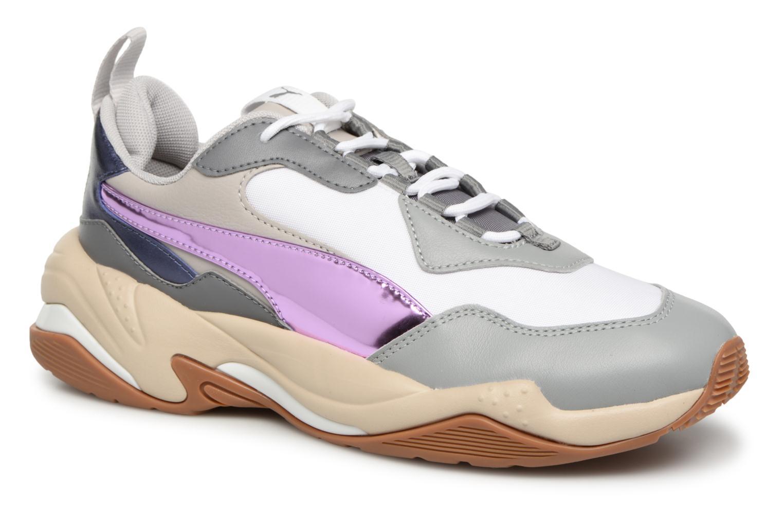 Sneakers Puma Thunder Electric W Vit detaljerad bild på paret