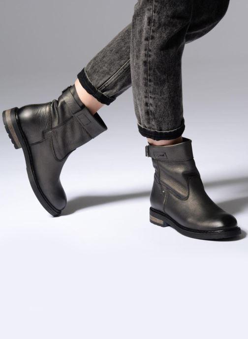 Bottines et boots P-L-D-M By Palladium BOTRY DST Or et bronze vue bas / vue portée sac